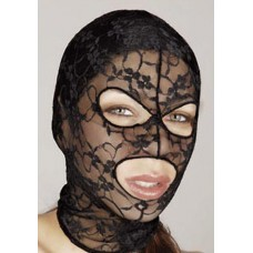 Bad Kitty mežģīņu sejas maska
