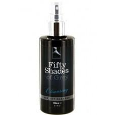 Fifty Shades of Grey Cleansing sprejs seksa rotaļlietu tīrīšanai (100 ml)